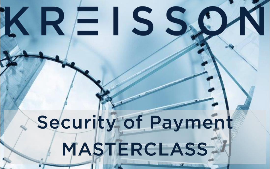 Security of Payment Masterclass