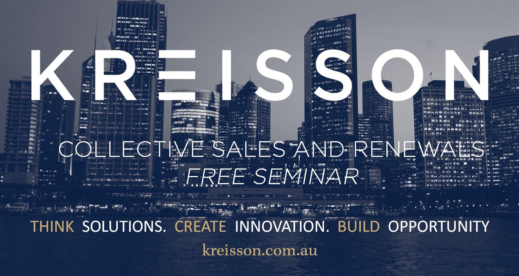 Collective Sales and Renewals Seminar