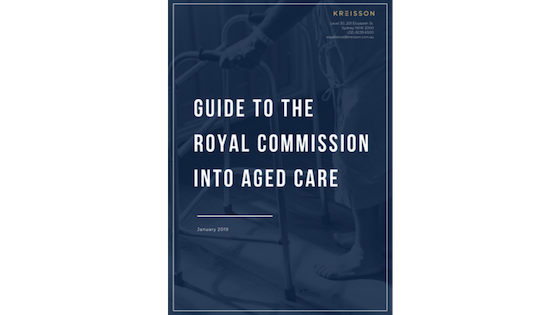 eBOOK: Guide to the Royal Commission into Aged Care